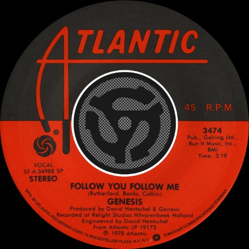 Follow You Follow Me [Single V...
