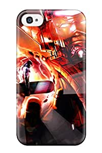 Cute Appearance Cover/tpu Marvel Case For Iphone 4/4s