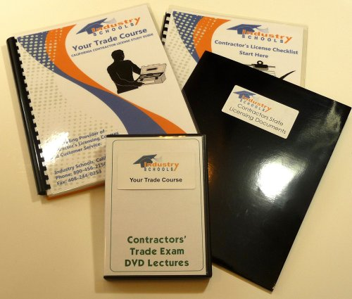 Paving Kit - KIT C12 - EARTHWORK AND PAVING for California w/Online Practice Exams, Instructors on DVDs