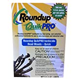 Roundup Quikpro Weed Killer Herbicide 73.3% 1 Packet Per Gallon, 5 Packs