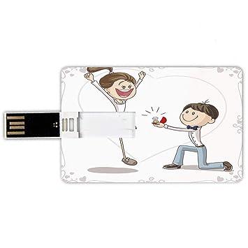 8GB Forma de tarjeta de crédito de unidades flash USB Decoraciones ...