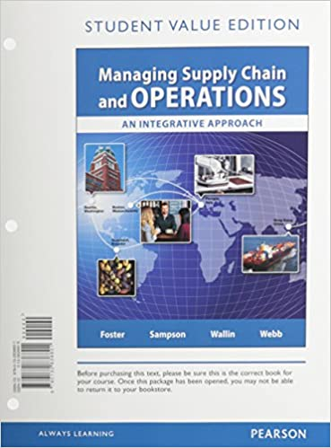 discount b57e9 6c3f1 Managing Supply Chain and Operations, Student Value Edition ...