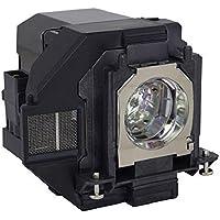 Amazing Lamps ELPLP96/V13H010L96 Factory Original Bulb in Compatible Housing for Epson Projectors