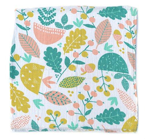 Muslin Swaddle Blanket - 100% Organic Cotton - Creative Babi