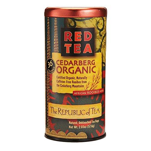 The Republic Of Tea Good Hope Vanilla, Caffeine-Free, Gourmet Red Rooibos Herbal Tea Blend