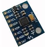 JMT Capteur de MPU-6050 Module 3 axes Gyro analogique + Module accéléromètre pour MPU 6050