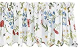 Park Designs Wildflower Window Treatment Tier, 72 x 24″