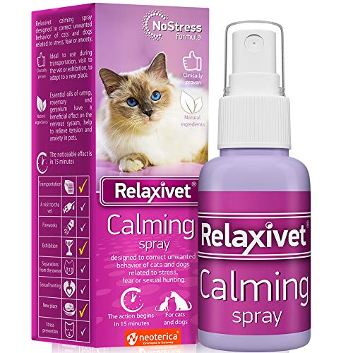 Relaxivet Pheromone Calming Spray