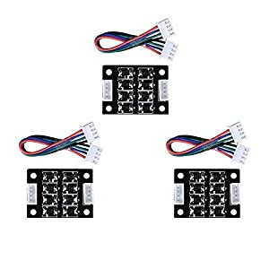 BALITENSEN TL-Smoother Kit Addon Module for Pattern Elimination Motor Filter Clipping Filter 3D Printer Motor Drivers Controller (Pack of 3) from BALITENSEN