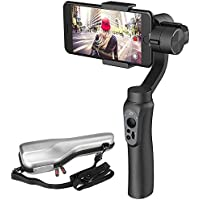 Zhiyun Smooth-Q 3-Axis Handheld Gimbal Stabilizer for Smartphone 3.5inch to 6inch in Dimension for IPhone 7 Plus 6 Plus Samsung Galaxy S8 S7 S6 S5 Wireless Control Vertical Shooting Panorama Mode