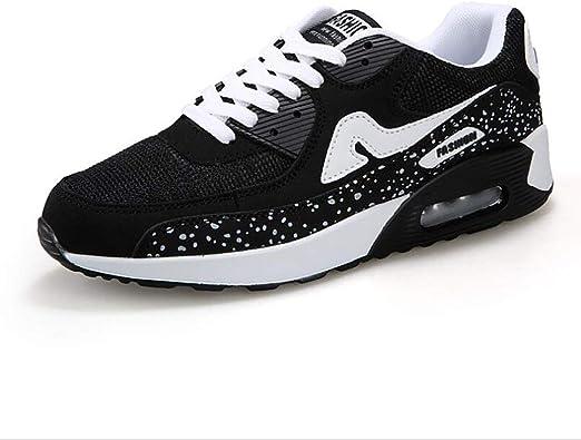 Sneakers Lovers, Mesh Comfort Zapatillas de Running Transpirables, Spring Fall Lovers Zapatillas de Atletismo, Casual/Travel EVA Fitness Shoes, Zapatillas de Trekking con Cordones: Amazon.es: Zapatos y complementos