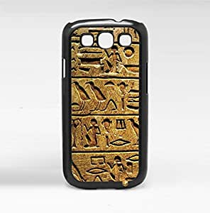 Ancient Egypt Kaligrafi Carvings Hard Snap on Phone Case (Galaxy s3 III) by icecream design