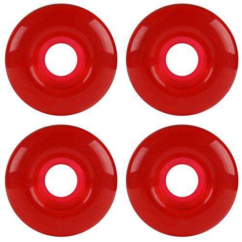 Dura Rollers 54mm RED Gel Skateboard Wheels