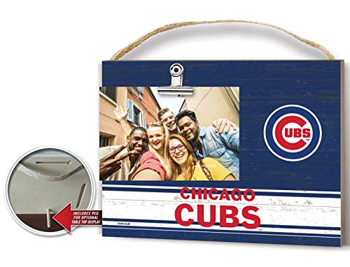 (KH Sports Fan Clip It Colored Logo Photo Frame Chicago Cubs)