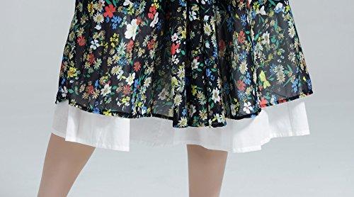 ... Robe Longue Plissée Mi Beautelicate Sous Femme Ivoire jupe Jupon long  Noir Fille Lingerie Blanc Marige ... bb36c1395d68