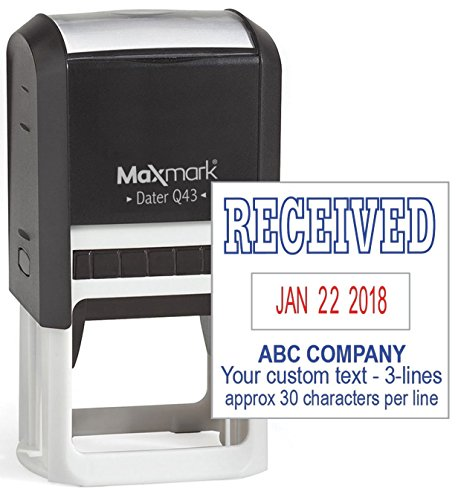 date stamp self inking custom - 5