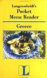 Greece, Langenscheidt Publishers Staff, 0887293115