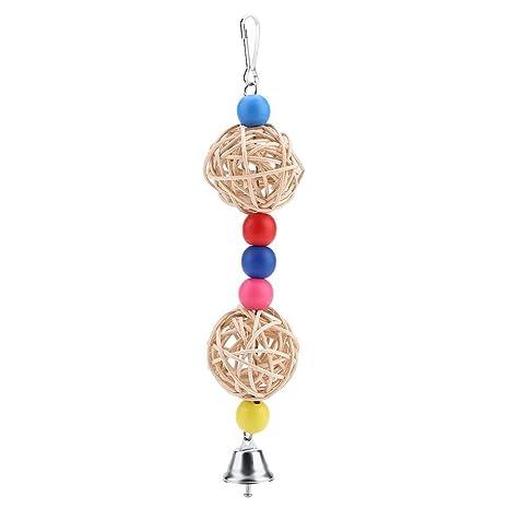 Redxiao Pájaro Que Juega el Juguete, Colorido Perlas de Madera ...