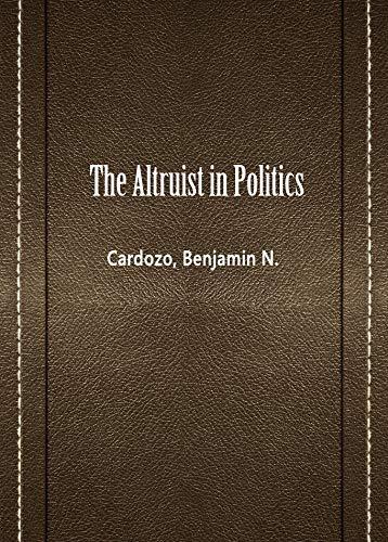 The Altruist in Politics