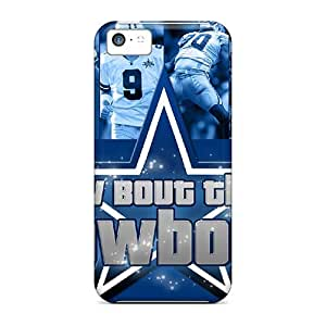 New Dallas Cowboys Tpu Case Cover, Anti-scratch NLkunMa2122XYLBL Phone Case For Iphone 5c