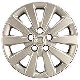 Hubcaps.com Premium Quality 16' Silver Hubcap/Wheel Cover fits Nissan Sentra, Heavy Duty Construction (ONE single hubcap)