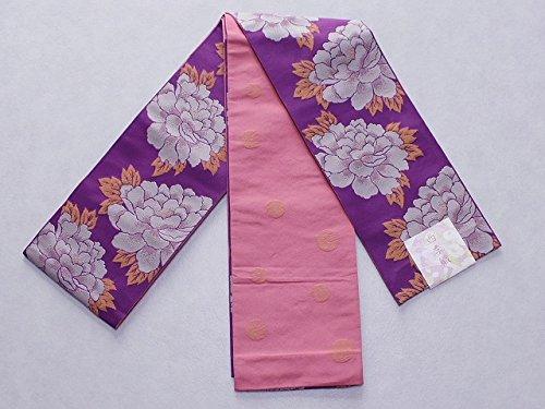 意識一方、レジデンス四季織の帯 細帯 ポリエステル帯 長尺帯 日本製 ゆかた帯 C4798-01