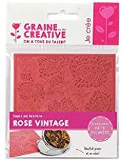 Texture mat for Polymer Paste - Vintage Rose