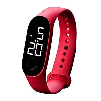 Reloj Digital Deportivo, Reloj A Prueba De Agua 5 Bar Led Relojes ...
