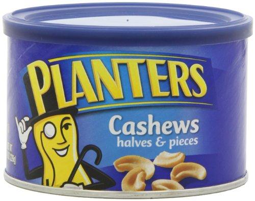 Planters Cashew Halves Pieces Ounce product image