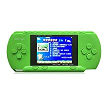 JXD Handheld Game Console PVP Classic 8bit Portable Video Game Console Built-in 999999 IN 1 Games NES Games Support AV Cable Christmas Halloween Birthday Gifts ... (GM01027GreenUS)
