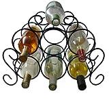 Southern Homewares 7-Bottle Minuet Wine Rack