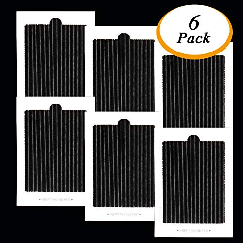 Carbon Activated Air Filter - 6Pieces Refrigerator Air Filter Fits Frigidaire PAULTRA Pure Air Ultra