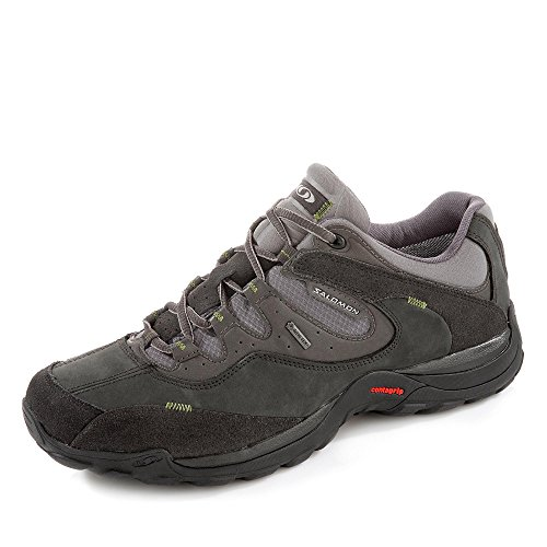 SALOMON ELIOS 2 GTX M - OUTDOOR SHOES - WATERPROOF (GORETEX) - ASPHALT/AUTOBAHN/GENEPI-X