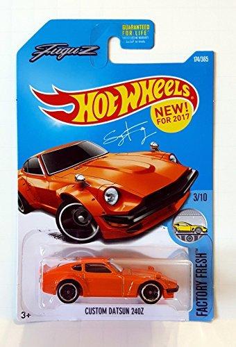 Hot Wheels 2017 Factory Fresh Custom Datsun 240Z 174/365, Orange]()