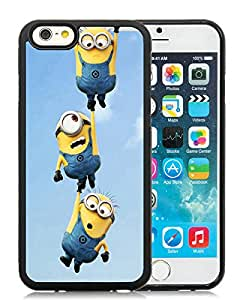 Newest iPhone 6/iPhone 6S 4.7 Inch TPU Case ,Minion HD Black iPhone 6/iPhone 6S 4.7 Inch TPU Screen Case Unique And Durable Custom Designed Cover Case