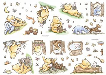 Lovely Decofun, Classic Winnie The Pooh Wall Stickers, Stikarounds Part 15