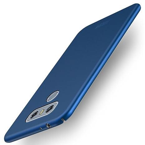 Amazon.com: LG G6 tapa trasera funda – Ultra delgado rígida ...