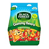 Black Forest Gummy Bears Ferrara Candy, Natural and Artificial Flavors, 6 Pound