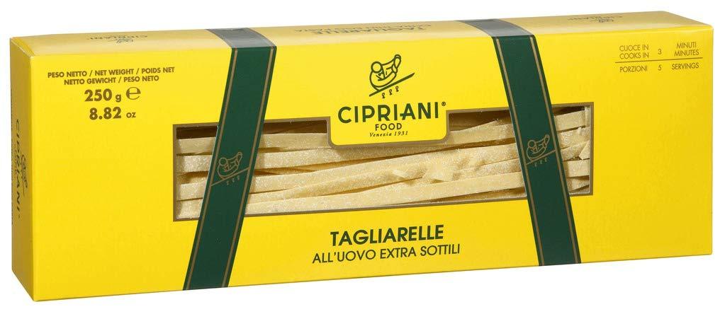 Cipriani Food Tagliarelle Extra Thin Egg Pasta 8.82 oz