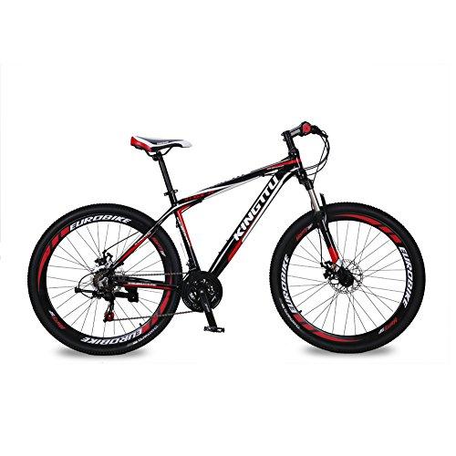 cyrusher kingttu 27 5 u0026quot  hardtail mountain bike mtb dual disc brakes aluminum frame shimano 21
