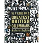 The BC Almanac Book of Greatest British Columbians by Mark Forsythe front cover