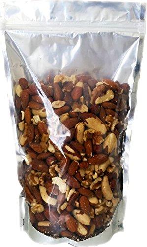 Raw Unsalted Mixed Nuts (Almonds, Brazil Nuts, Cashews and Walnuts) 24 oz