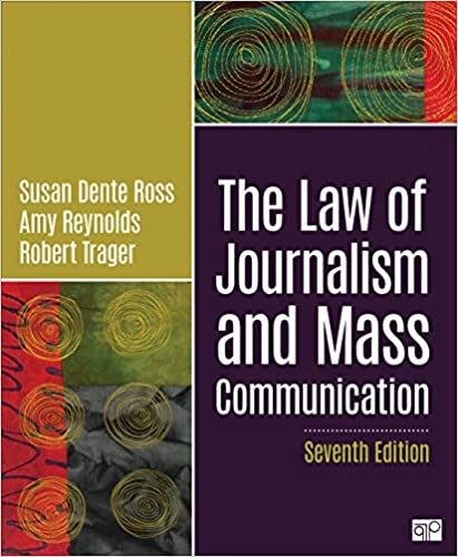 The Law Of Journalism And Mas Communication Ros Susan D Reynold Amy L Trager Robert E 9781544377582 Amazon Com Books Dissertation Topic For Pdf