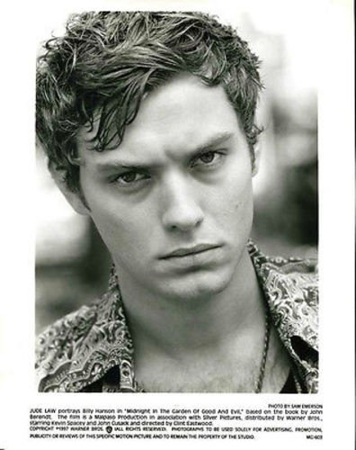 Jude Law Midnight in The Garden Of Good And Evil Original 8x10