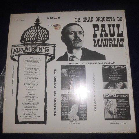 La Gran Orquesta de Paul Mauriat , Vol. 5 (Vinyl) // Love is Blue