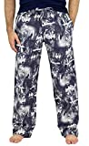 Fruit of the Loom Men's Yarn-dye Woven Flannel Pajama Pant (X-Large, Wolf Moon Print)