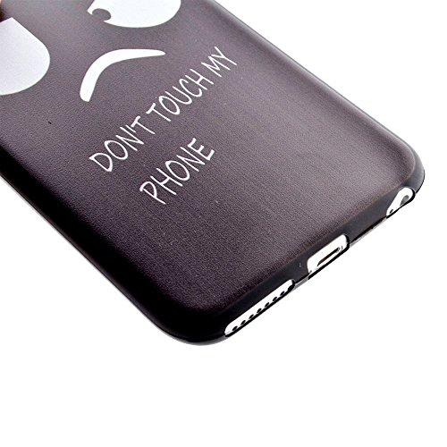 "HYAIT® For IPHONE 6 PLUS 5.5"" [XXG BLACK V1]Scratch-Proof Ultra Thin Rubber Gel TPU Soft Silicone Bumper Case Cover -BKI05"