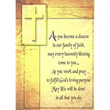 As You Become a Deacon Greeting Card