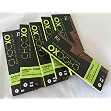 Bulk Buy 6 Bars ChocXO Gluten-Free Single Origin 72% Chocolate: CAMINO VERDE ECUADOR