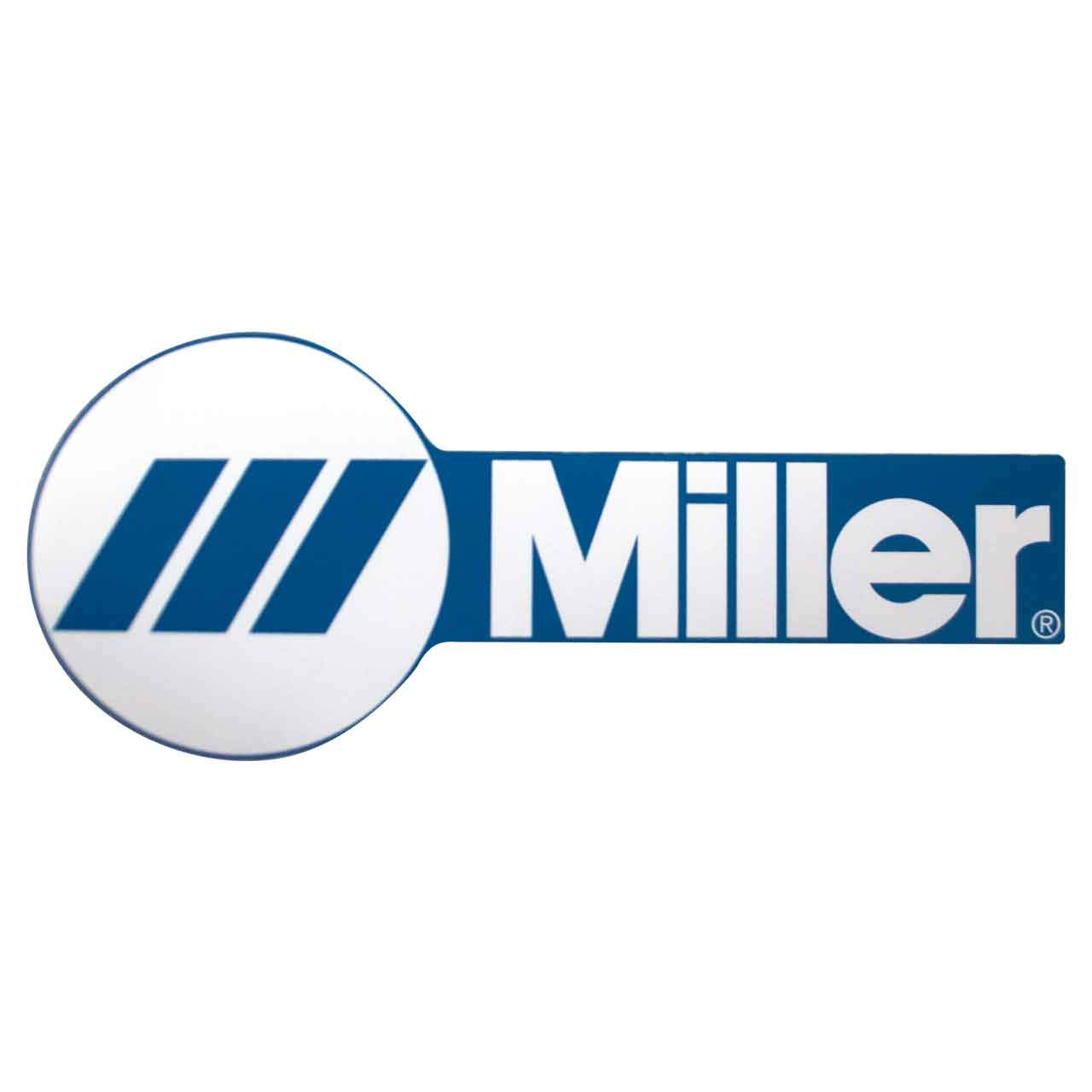 Miller Replacement Decals Miller Logo (3.5